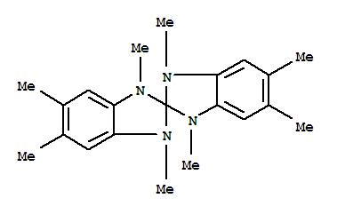 Molecular Structure of 99643-38-6 (2,2'-Spirobi[2H-benzimidazole], 1,1',3,3'-tetrahydro-1,1',3,3',5,5',6,6'-octamethyl-)