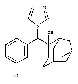109485-38-3,Tricyclo[3.3.1.13,7]decan-2-ol,2-[(3-chlorophenyl)-1H-imidazol-1-ylmethyl]-, (+)-,HOE 249