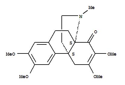 111509-17-2,Hasubanan-8-one,6,7-didehydro-2,3,6,7-tetramethoxy-17-methyl-,3a,9b-[2]Buteno-1H-benz[e]indole,hasubanan-8-one deriv.; (+)-Stephaphylline; Stephaphylline