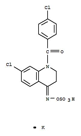 114427-44-0,Hydroxylamine-O-sulfonicacid, N-[7-chloro-1-(4-chlorobenzoyl)-2,3-dihydro-4(1H)-quinolinylidene]-,potassium salt (9CI),