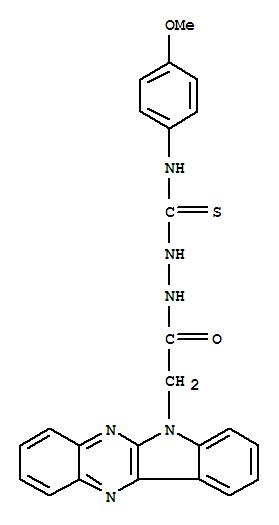 116989-61-8,6H-Indolo[2,3-b]quinoxaline-6-aceticacid, 2-[[(4-methoxyphenyl)amino]thioxomethyl]hydrazide,