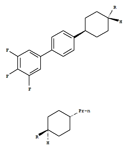 trans,trans-4'-(4'-Propylbicyclohexyl-4-yl)-3,4,5-trifluorobiphenyl product picture