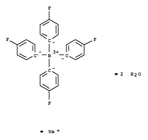 Borate(1-),tetrakis(4-fluorophenyl)-, sodium, dihydrate (9CI)