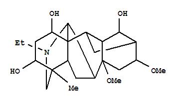 221376-30-3,Aconitane-1,3,14-triol,20-ethyl-8,16-dimethoxy-4-methyl-, (1a,3a,14a,16b)- (9CI),Crispulidine
