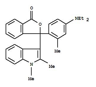 3-(1,2-Dimethyl-3-indolyl)-3-[4-(diethylamino)-2-methylphenyl]phthalide