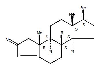 1232-76-4,Dicyclopenta[a,f]naphthalen-2(3H)-one,6-acetyl-3a,3b,4,5,5a,6,7,8,8a,8b,9,10-dodecahydro-3a,5a-dimethyl-,(3aR,3bS,5aS,6S,8aS,8bS)-,A-Norpregn-3(5)-ene-2,20-dione(6CI,7CI,8CI); A-Nor-3-pregnene-2,20-dione; A-Norprogesterone;Dicyclopenta[a,f]naphthalen-2(3H)-one,6-acetyl-3a,3b,4,5,5a,6,7,8,8a,8b,9,10-dodecahydro-3a,5a-dimethyl-, [3aR-(3aa,3bb,5aa,6a,8ab,8ba)]-; NSC 48015