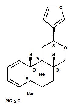 130395-37-8,2H-Naphtho[2,1-c]pyran-7-carboxylicacid, 2-(3-furanyl)-1,4,4a,5,6,6a,10a,10b-octahydro-6a,10b-dimethyl-,(2S,4aR,6aR,10aR,10bR)-,2H-Naphtho[2,1-c]pyran-7-carboxylicacid, 2-(3-furanyl)-1,4,4a,5,6,6a,10a,10b-octahydro-6a,10b-dimethyl-, [2S-(2a,4aa,6ab,10aa,10bb)]-; Welwitschic acid