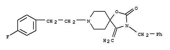 134069-53-7,1-Oxa-3,8-diazaspiro[4.5]decan-2-one,8-[2-(4-fluorophenyl)ethyl]-4-methylene-3-(phenylmethyl)-,