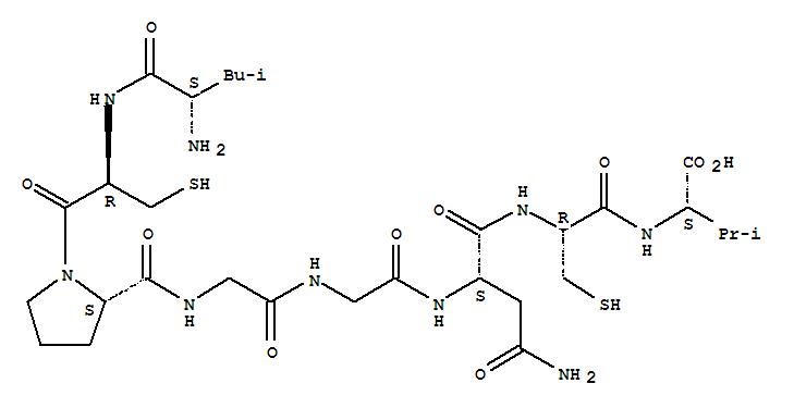 117788-31-5,Sperm-activatingpeptide E (Glyptocidaris crenularis egg jelly coat reduced) (9CI),Sperm-activatingpeptide A (Glyptocidaris crenularis egg jelly coat reduced), 1-de-L-lysine-;Deslysine1-SAP-IIB (Glyptocidaris crenularis reduced); L-Valine,N-[N-[N2-[N-[N-[1-(N-L-leucyl-L-cysteinyl)-L-prolyl]glycyl]glycyl]-L-asparaginyl]-L-cysteinyl]-