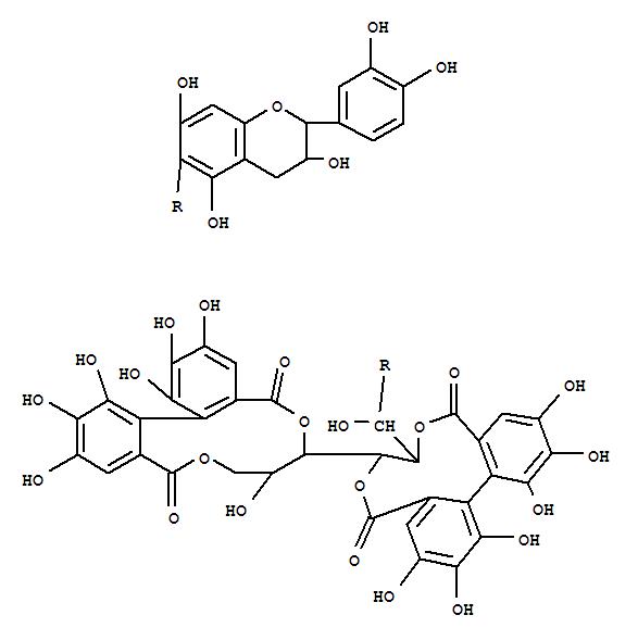 172723-29-4,D-Glucitol,1-C-[(2R,3S)-2-(3,4-dihydroxyphenyl)-3,4-dihydro-3,5,7-trihydroxy-2H-1-benzopyran-6-yl]-,cyclic 2,3:4,6-bis[(1S)-4,4',5,5',6,6'-hexahydroxy[1,1'-biphenyl]-2,2'-dicarboxylate],(1S)- (9CI),D-Glucitol,1-C-[2-(3,4-dihydroxyphenyl)-3,4-dihydro-3,5,7-trihydroxy-2H-1-benzopyran-6-yl]-,cyclic2,3:4,6-bis(4,4',5,5',6,6'-hexahydroxy[1,1'-biphenyl]-2,2'-dicarboxylate),[1S(2R,3S),2(S),4(S)]-; Stachyuranin B