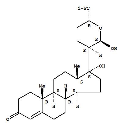 185331-95-7,Cholest-4-en-3-one,21,24-epoxy-17,21-dihydroxy-, (21R,24R)- (9CI),AnastomosacetalC