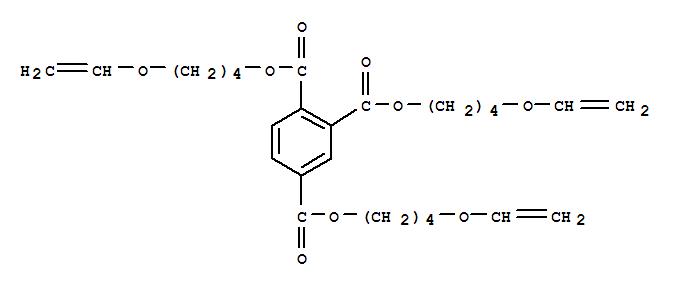 Tris (4-vinyl oxy butyl) trimellitate