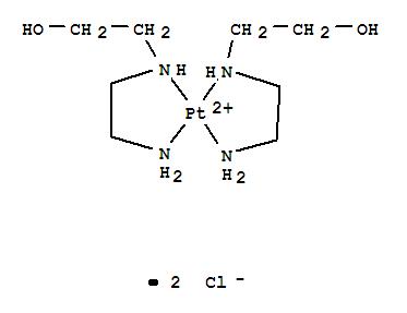 21210-06-0,Platinum(2+),bis[2-[(2-aminoethyl)amino]ethanol-N,N']-, dichloride (9CI),Platinum(2+),bis[2-[(2-aminoethyl)amino]ethanol]-, dichloride (8CI); Ethanol,2-[(2-aminoethyl)amino]-, platinum complex