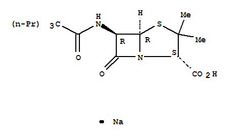 36546-52-8,4-Thia-1-azabicyclo[3.2.0]heptane-2-carboxylicacid, 3,3-dimethyl-7-oxo-6-[(1-oxo-2,2-dipropylpentyl)amino]-, monosodium salt,(2S,5R,6R)- (9CI),4-Thia-1-azabicyclo[3.2.0]heptane-2-carboxylicacid, 3,3-dimethyl-7-oxo-6-[(1-oxo-2,2-dipropylpentyl)amino]-, monosodium salt,[2S-(2a,5a,6b)]-; 4-Thia-1-azabicyclo[3.2.0]heptane-2-carboxylic acid,6-(2,2-dipropylvaleramido)-3,3-dimethyl-7-oxo-, sodium salt (7CI); BRL 1201