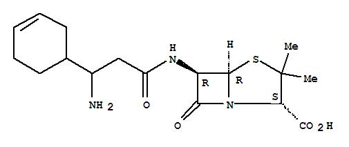 37631-88-2,4-Thia-1-azabicyclo[3.2.0]heptane-2-carboxylicacid, 6-[[3-amino-3-(3-cyclohexen-1-yl)-1-oxopropyl]amino]-3,3-dimethyl-7-oxo-,(2S,5R,6R)-,4-Thia-1-azabicyclo[3.2.0]heptane-2-carboxylicacid, 6-[[3-amino-3-(3-cyclohexen-1-yl)-1-oxopropyl]amino]-3,3-dimethyl-7-oxo-,[2S-(2a,5a,6b)]-; BRL 10351