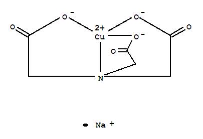 53108-47-7,Cuprate(1-),[N,N-bis[(carboxy-kO)methyl]glycinato(3-)-kN,kO]-, sodium, (T-4)- (9CI),Cuprate(1-),[N,N-bis(carboxymethyl)glycinato(3-)-N,O,O',O'']-, sodium, (T-4)-; Sodium(nitrilotriacetato)cuprate(II) (7CI); Sodium (nitrilotriacetato)cuprate(1-)