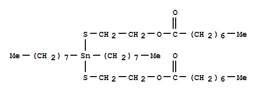 59118-81-9,Octanoic acid,1,1',1''-[(dioctylstannylene)bis(thio-2,1-ethanediyl)] ester,Octanoicacid, (dioctylstannylene)bis(thio-2,1-ethanediyl) ester (9CI)