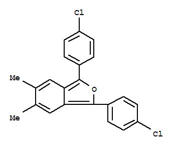 62423-10-3,Isobenzofuran,1,3-bis(4-chlorophenyl)-5,6-dimethyl-,Isobenzofuran,1,3-bis(p-chlorophenyl)-5,6-dimethyl- (4CI); NSC 156742