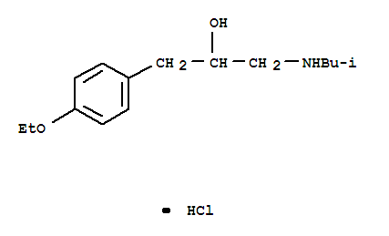 6302-19-8,Benzeneethanol,4-ethoxy-a-[[(2-methylpropyl)amino]methyl]-,hydrochloride (1:1),Benzeneethanol,4-ethoxy-a-[[(2-methylpropyl)amino]methyl]-,hydrochloride (9CI); Phenethyl alcohol, p-ethoxy-a-(isobutylaminomethyl)-, hydrochloride (6CI); NSC41505