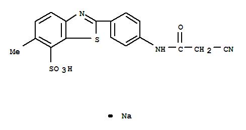 sodium?2-[4-(2-cyanoacetamido)phenyl]-6-methylbenzothiazole-7-sulphonate)
