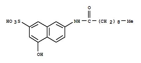 68189-33-3,2-Naphthalenesulfonicacid, 4-hydroxy-7-[(1-oxodecyl)amino]-,