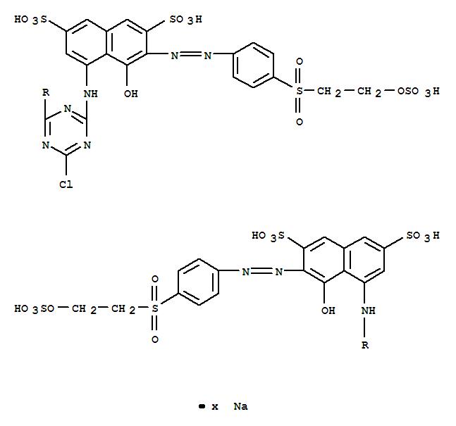 94158-79-9,2,7-Naphthalenedisulfonicacid,4,4'-[(6-chloro-1,3,5-triazine-2,4-diyl)diimino]bis[5-hydroxy-6-[[4-[[2-(sulfooxy)ethyl]sulfonyl]phenyl]azo]-,sodium salt (9CI),