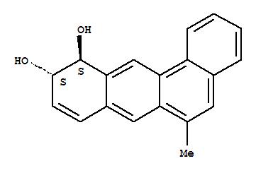 98601-01-5,Benz[a]anthracene-10,11-diol,10,11-dihydro-6-methyl-, trans- (9CI),