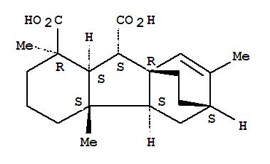 111682-43-0,6,8a-Etheno-8aH-fluorene-1,9-dicarboxylicacid, 1,2,3,4,4a,4b,5,6,7,8,9,9a-dodecahydro-1,4a,11-trimethyl-,(1R,4aS,4bS,6S,8aR,9S,9aS)-,6,8a-Ethano-8aH-fluorene-1,9-dicarboxylicacid, 1,2,3,4,4a,4b,5,6,9,9a-decahydro-1,4a,7-trimethyl-,(1R,4aS,4bS,6S,8aR,9S,9aS)- (9CI); 6,8a-Ethano-8aH-fluorene-1,9-dicarboxylicacid, 1,2,3,4,4a,4b,5,6,9,9a-decahydro-1,4a,7-trimethyl-, [1R-(1a,4aa,4bb,6a,8aa,9b,9ab)]-; Isoatisagibberellin A12
