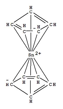Molecular Structure of 1294-75-3 (Stannocene)