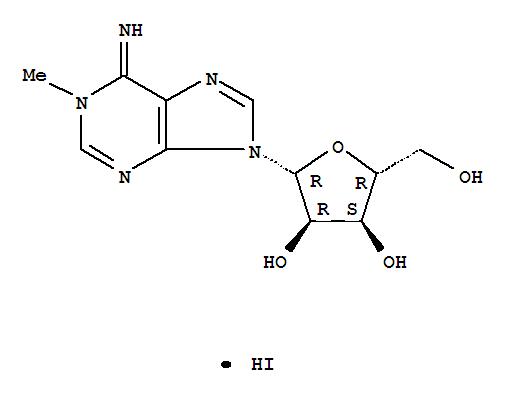 Adenosine, 1-methyl-,hydriodide (1:1)