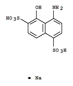 40492-13-5,1,6-Naphthalenedisulfonicacid, 4-amino-5-hydroxy-, sodium salt (1:1),1,6-Naphthalenedisulfonicacid, 4-amino-5-hydroxy-, monosodium salt (9CI)