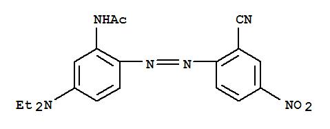 Molecular Structure of 52583-54-7 (Acetamide,N-[2-[2-(2-cyano-4-nitrophenyl)diazenyl]-5-(diethylamino)phenyl]-)