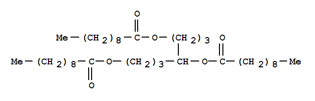 5453-35-0,Decanoic acid,1,4,7-heptanetriyl ester (9CI),NSC 18576