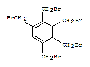 Molecular Structure of 55231-64-6 (Benzene,1,2,3,4,5-pentakis(bromomethyl)-)