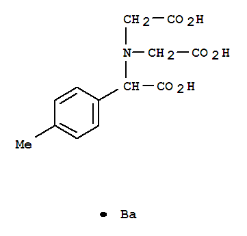 6212-25-5,Benzeneacetic acid, a-[bis(carboxymethyl)amino]-4-methyl-,barium salt (1:1),Aceticacid, 2-p-tolyl-2,2',2''-nitrilotri-, barium salt (1:1) (8CI)