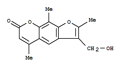 62442-59-5,7H-Furo[3,2-g][1]benzopyran-7-one,3-(hydroxymethyl)-2,5,9-trimethyl-,4'-Hydroxymethyl-4,5',8-trimethylpsoralen;NSC 291834; NSC 671201