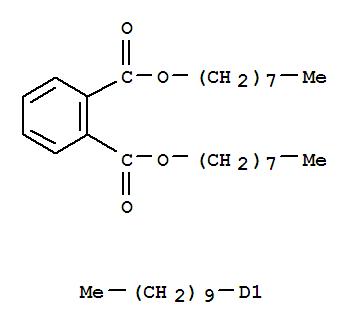 CAS NO:64201-61-2 1,2-Benzenedicarboxylicacid, decyl-, dioctyl ester (9CI) Molecular Structure