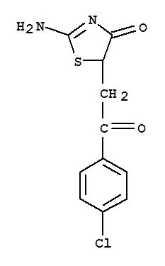6630-60-0,4(5H)-Thiazolone,2-amino-5-[2-(4-chlorophenyl)-2-oxoethyl]-,NSC 60896