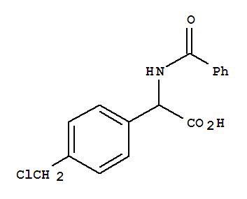 66320-53-4,Benzeneacetic acid, a-(benzoylamino)-4-(chloromethyl)-,Benzeneaceticacid, a-(benzoylamino)-4-(chloromethyl)-,(?à)-; NSC 334068