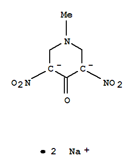 70688-17-4,4-Piperidinone,1-methyl-3,5-dinitro-, ion(2-), disodium (9CI),NSC 334348