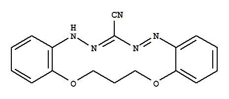 5H,15H-Dibenzo[b,i][1,11,4,5,7,8]dioxatetraazacyclotetradecine-7-carbonitrile,16,17-dihydro-