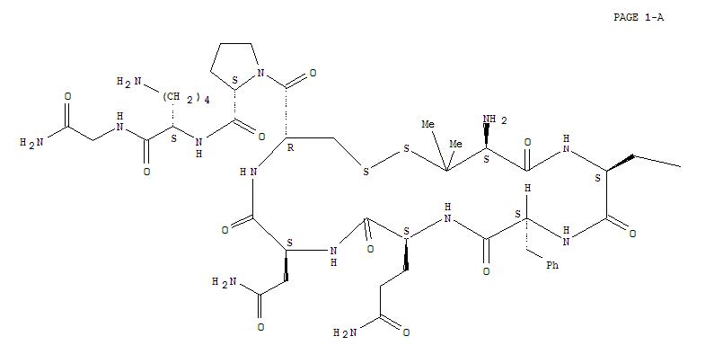 89070-69-9,Vasopressin,1-(3-mercapto-D-valine)-2-(O-methyl-L-tyrosine)-8-L-lysine- (9CI),1,2-Dithia-5,8,11,14,17-pentaazacycloeicosane,cyclic peptide deriv.