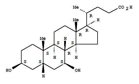 78919-26-3,Cholan-24-oic acid,3,7-dihydroxy-, (3b,5b,7b)-,3b,7b-Dihydroxy-5b-cholan-24-oic acid; 3b,7b-Dihydroxy-5b-cholanicacid; 3b,7b-Dihydroxy-5b-cholanoic acid; 3b-Ursodeoxycholic acid; Isoursodeoxycholic acid