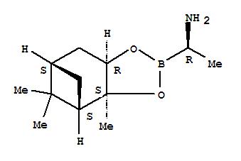 CAS NO:497165-15-8 4,6-Methano-1,3,2-benzodioxaborole-2-methanamine,hexahydro-a,3a,8,8-tetramethyl-, (aR,3aS,4S,6S,7aR)- Molecular Structure