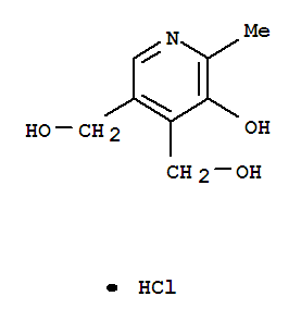 Molecular Structure of 58-56-0 (Pyridoxine hydrochloride)