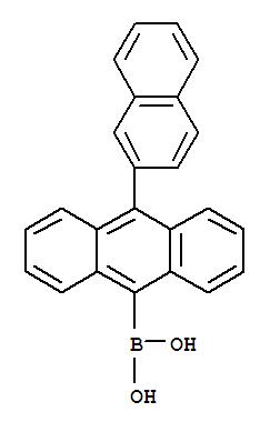 10-(Naphthalene-2-yl)anthracene-9-yl boronic acid(597554-03-5)