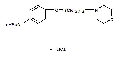 Molecular Structure of 637-58-1 (Pramoxine hydrochloride)