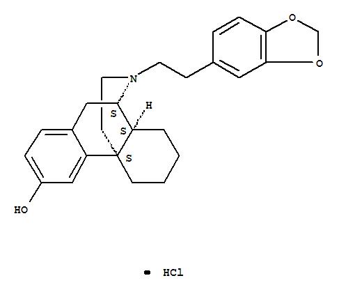 63903-46-8,Morphinan-3-ol,17-[2-(1,3-benzodioxol-5-yl)ethyl]-, hydrochloride, (9a,13a,14a)- (9CI),
