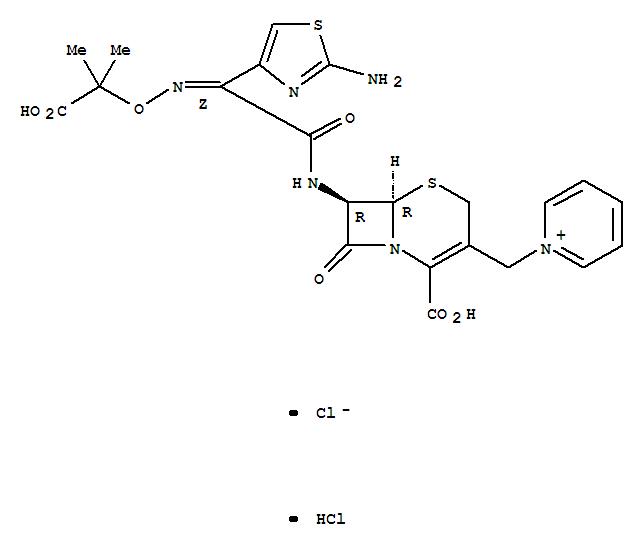 Ceftazidime dihydrochloride