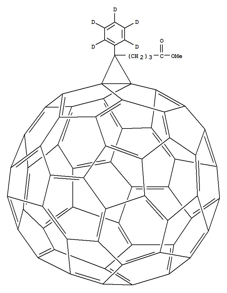 3'H-CYCLOPROPA[1,9][5,6]FULLERENE-C60-IH-3'-BUTANOIC ACID, 3'-(PHENYL-2,3,4,5,6-D5)-, METHYL ESTER